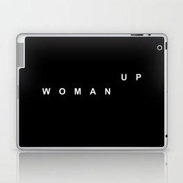 WOMAN UP Laptop & iPad Skin