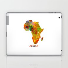 Africa map colored Laptop & iPad Skin
