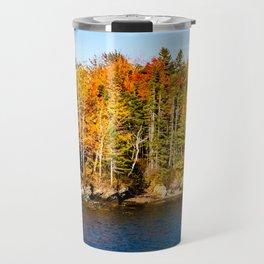 New England Fall. USA. Travel Mug