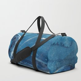A stone monster almost catched ... Duffle Bag