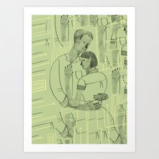 Embrace the content aware Art Print