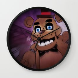 FREDDY Wall Clock