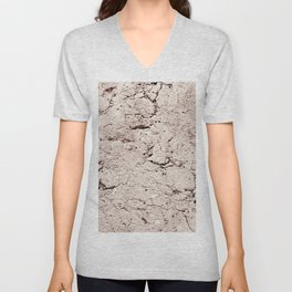 Old Stone Wall - textured II Unisex V-Neck