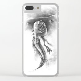 The Tadpole of Black Lagoon Clear iPhone Case