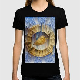 Golden Leaf in the endless dial T-shirt