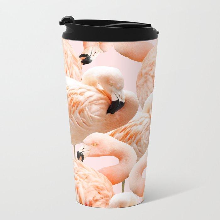 Flamingo Blush #society6 #decor #buyart #flamingoart Travel Mug