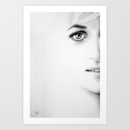 The Half Series: Diana Art Print