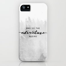 And So The Adventure Begins Slim Case iPhone SE