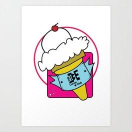 The Ice Cream Club Art Print