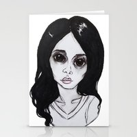 ultraviolence Stationery Cards featuring ULTRAVIOLENCE by Julio César
