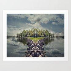 ManuIsland  Art Print
