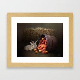 Fruit of the Rabbit Framed Art Print