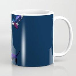 Astronaut meets killer whale Coffee Mug