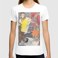 kids T-shirts featuring Kids by collageriittard
