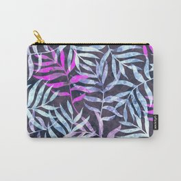 Watercolor Tropical Palm Leaves X Carry-All Pouch