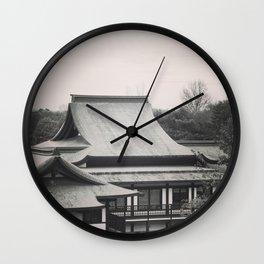 Japanese Building Wall Clock