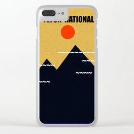 Grand Teton National Park Clear iPhone Case