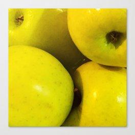 Manzanas Canvas Print