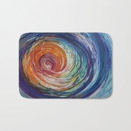Rainbow Wave Bath Mat