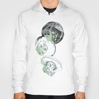 jelly fish Hoodies featuring Jelly Fish by Eleanor V R Smith
