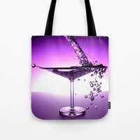 martini Tote Bags featuring Martini by Littlebell