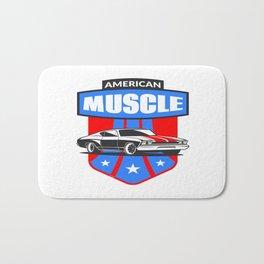 American Muscle Car Bath Mat