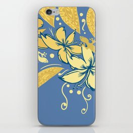 Samoan Orchid Sunset Polynesian Floral iPhone Skin