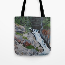 Waterfall South of Anchorage Tote Bag