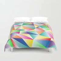 kaleidoscope Duvet Covers featuring Kaleidoscope  by Miss L in Art