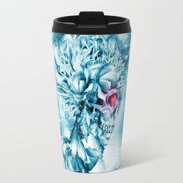 Frozen Skull Travel Mug