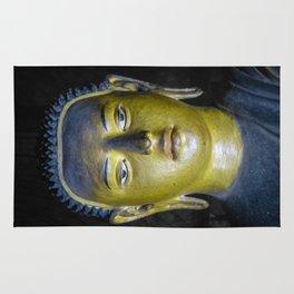 Buddha statue inside Maha Raja Viharaya or the Temple of the Great King (Cave No.2) Rug