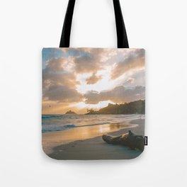 Kailua Beach Sunrise, North Shore Oahu Tote Bag