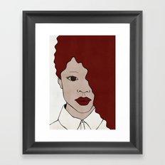 Female One Framed Art Print