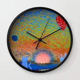 Sunrise Ritual 3 Wall Clock