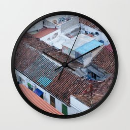 ninth floor Wall Clock