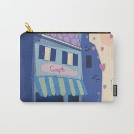 The little Parisian Cafe. Carry-All Pouch