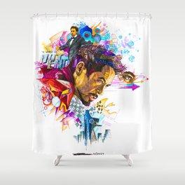 Tony Stark Shower Curtain