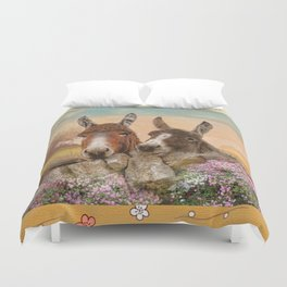 Got Time For A Chat ? Duvet Cover