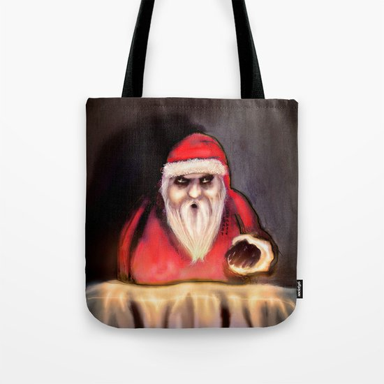 Black Xmas: Santa Claus is Here Tote Bag