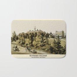 Rutgers 1849 Bath Mat