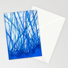 Blue Holiday Stationery Cards