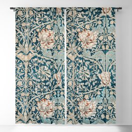 William Morris Honeysuckle pattern 1876 Blackout Curtain