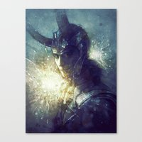 king Canvas Prints featuring King by Anna Dittmann