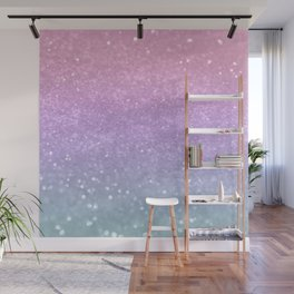 Unicorn Princess Glitter #1 (Photography) #pastel #decor #art #society6 Wall Mural