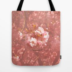 Pink Amongst The Trees Tote Bag