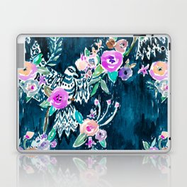 BIRD OF HEY - INDIGO Laptop & iPad Skin