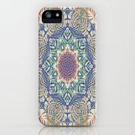 Jungle Kaleidoscope iPhone Case