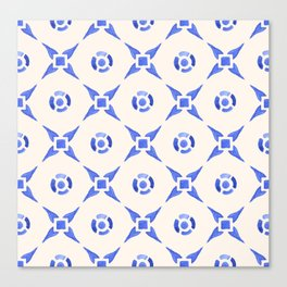 Vintage Delftware Canvas Print