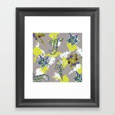 Star Jewel Framed Art Print