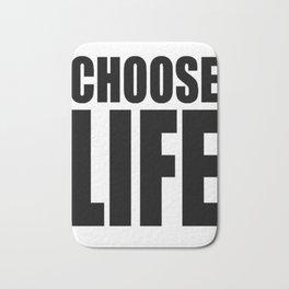 CHOOSE LIFE - WHAM! Bath Mat